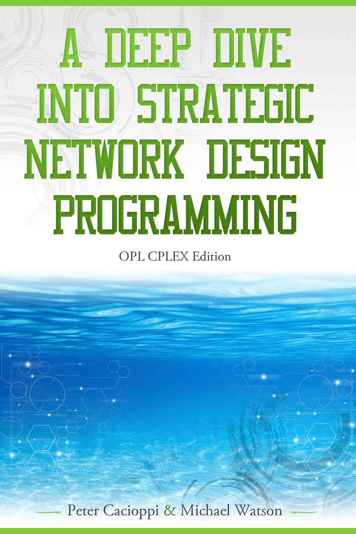 CPLEX for Network Design Book Cover
